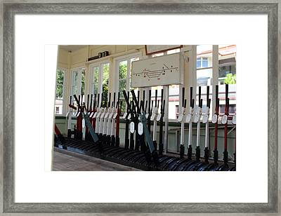 Old Switch Room Framed Print