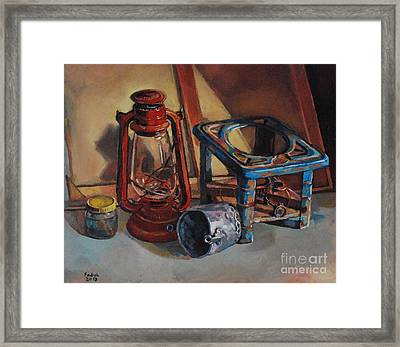 Old Things Framed Print by Mohamed Fadul