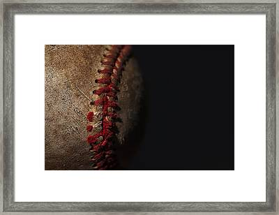 Old Time Baseball Framed Print