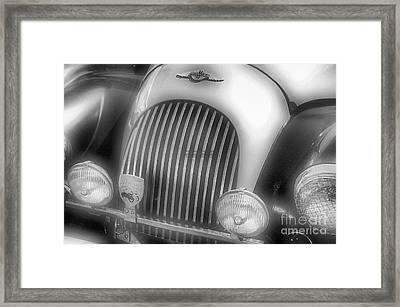 Framed Print featuring the photograph Old Time Car 2 by John S