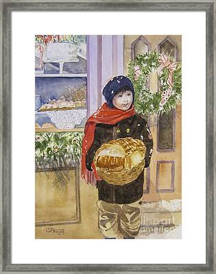 Old Time Christmas Framed Print
