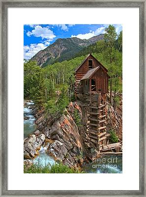 Old Time Colorado Framed Print by Adam Jewell