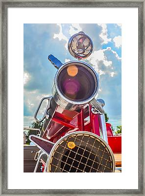 Old Time Fire Truck Series Framed Print by Kelly Kitchens