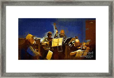 Old Time Music Framed Print by RC deWinter