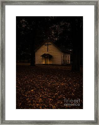 That Old Time Religion Framed Print by Robert Frederick
