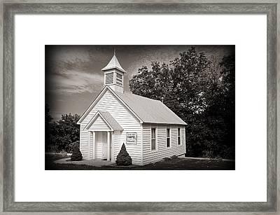 Old Time Religion Framed Print by Steven  Michael