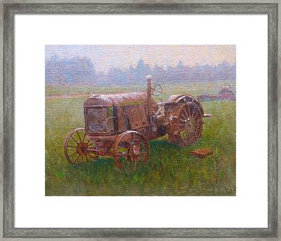 Old Timer Canterbury Framed Print by Terry Perham