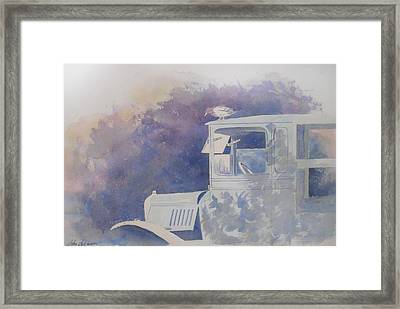 Old Timer Framed Print by John  Svenson