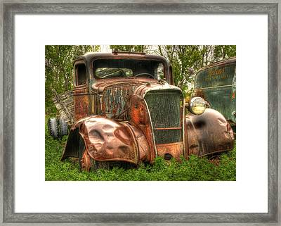 Old Timer Framed Print by Thomas Young