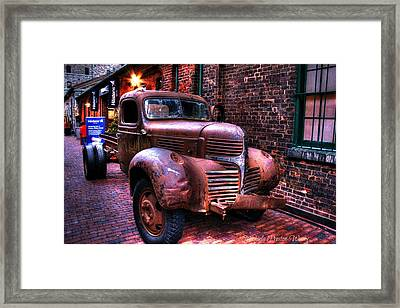 Old Times 2 Framed Print by Michaela Preston