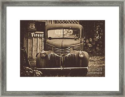 Old Times Framed Print by Alana Ranney