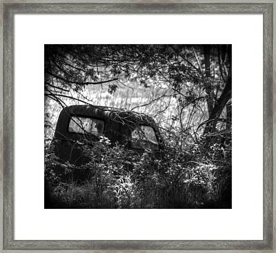 Old Times Good Times Framed Print