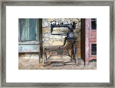 Old Times Remembered Framed Print by Bob Christopher