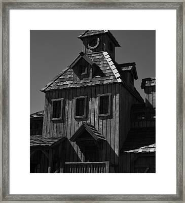 Old Times Framed Print