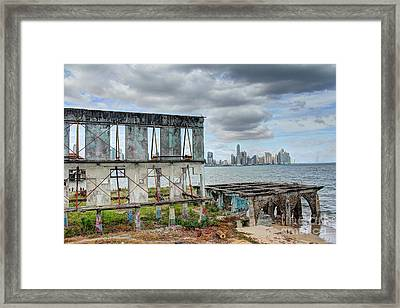 Old To New  Framed Print