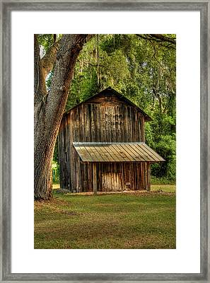 Old Tobacco Barn Framed Print