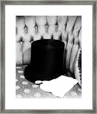 Old Top Hat Framed Print