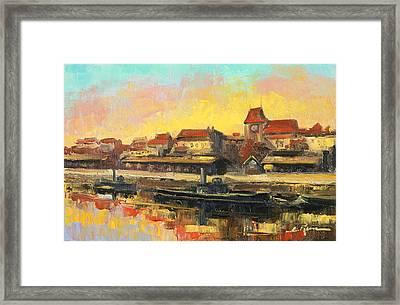 Old Torun Framed Print