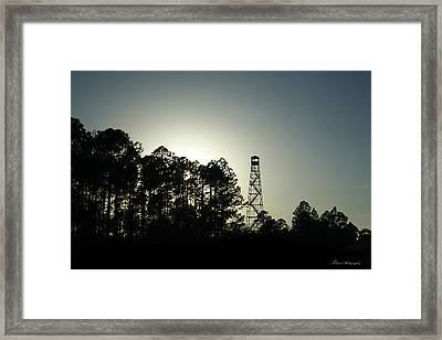 Old Tower Framed Print