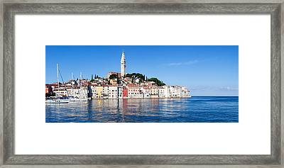 Old Town And The St. Euphemias Framed Print