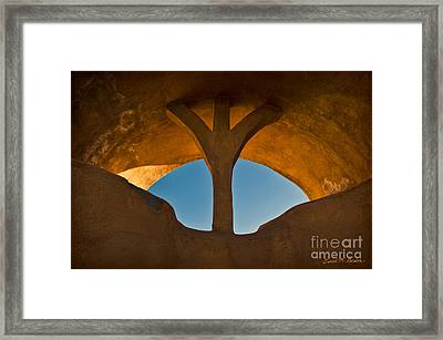 Old Town Archway No. 1 Framed Print by David Gordon