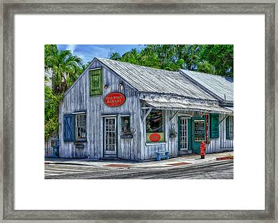 Old Town Bakery Framed Print