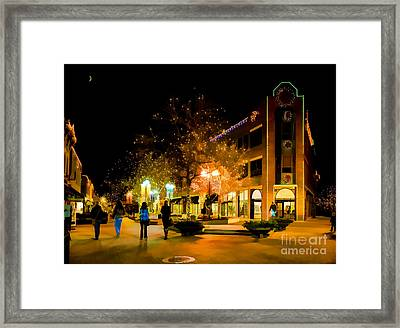 Old Town Christmas Framed Print by Jon Burch Photography