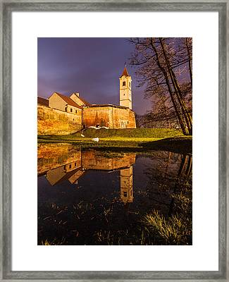 Old Town Framed Print by Davorin Mance
