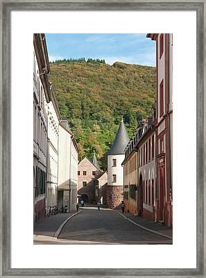 Old Town Heidelberg, Germany Framed Print by Michael Defreitas