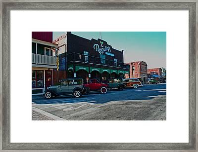 Old Town Isleton Framed Print