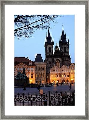 Old Town Framed Print by Marijoy Leynes