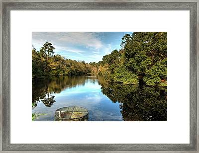 Old Town Pond Framed Print by Maurice Smith