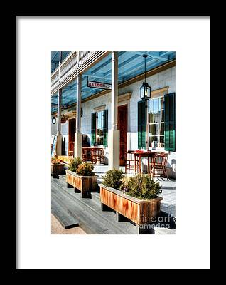 Old Town San Diego Framed Prints
