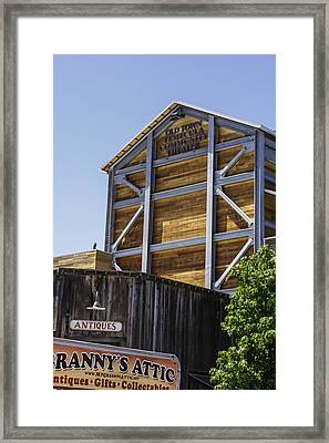 Old Town Temecula Theater Framed Print