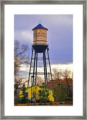 Old Towne Arvada Framed Print by David Pantuso
