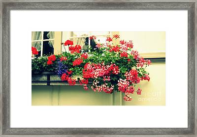 Old Traditions Framed Print by Susanne Van Hulst