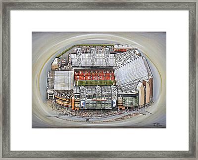 Old Trafford - Manchester United Framed Print