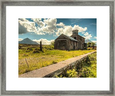Old Train Station Framed Print by Craig Brown