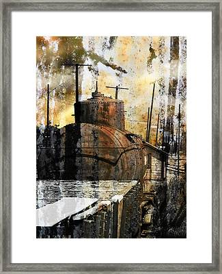Old Train Yard II Framed Print by Robert Ball