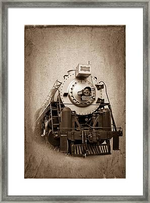 Old Trains Framed Print