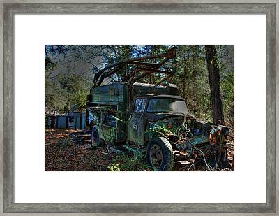 Old Truck 01 Framed Print by Andy Savelle