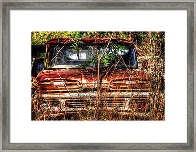 Old Truck 02 Framed Print by Andy Savelle