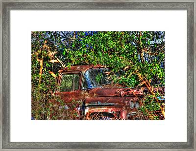 Old Truck 05 Framed Print by Andy Savelle