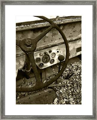 Old Truck 1 Framed Print