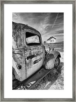 Old Truck 2 Framed Print