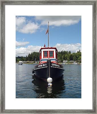 Old Tug Framed Print