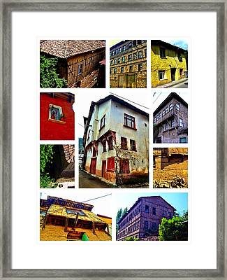 Old Turkish Houses Framed Print