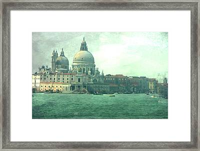 Framed Print featuring the photograph Old Venice by Brian Reaves