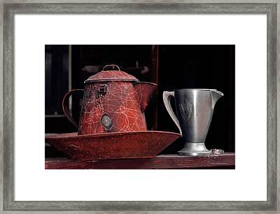Old Vessels Framed Print by Kae Cheatham