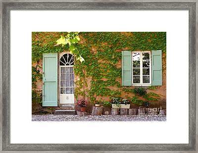 Old Village Framed Print